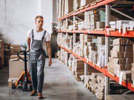 פתרונות אחסון למחסן תעשייתי